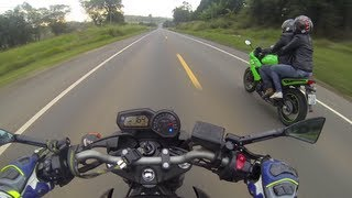 No final, tome pau da Ninja 650r