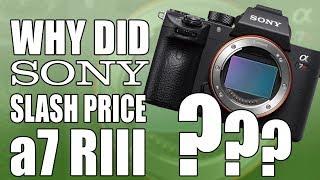 Why Sony Slashed Price A7R III (a7R3) FF Mirrorless Camera?