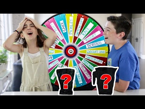 MYSTERY WHEEL OF SMOOTHIE CHALLENGE!!