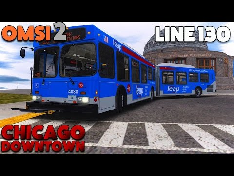 OMSI 2 Let's Play #35 | New Flyer DE60LF | Chicago (Downtown): Line 130