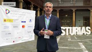 Juan Jose Garcia - Interview from the 2nd World Conference on Smart Destinations 2018