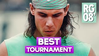 Rafael Nadal: Most Dominating Tournament Ever (French Open 2008)