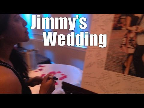 Jimmy's Wedding - Daily VLOG #604 (Aug 20/16)