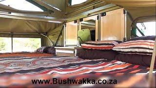 4x4 Camping Trailers | Bhoma Trailer-Interior | Bushwakka 4x4 Trailers