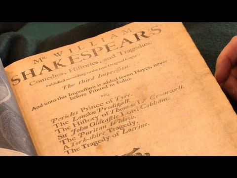 Comedies, Histories and Tragedies, William Shakespeare. 3rd Folio Edition, 1685. Peter Harrington