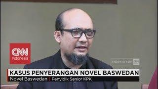 Cerita Novel Baswedan saat Dirinya Disiram Air Keras