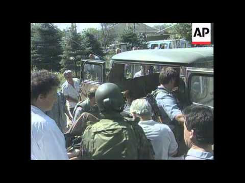 RUSSIA: BUDYONNOVSK: 2ND ATTACK LAUNCHED ON HOSPITAL