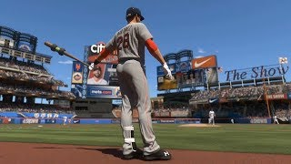 MLB The Show 18 - New York Mets vs Boston Red Sox - Gameplay (PS4 HD) [1080p60FPS]