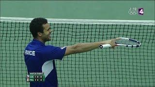 Coupe Davis - La joie française après la victoire décisive de Jo-Wilfried Tsonga