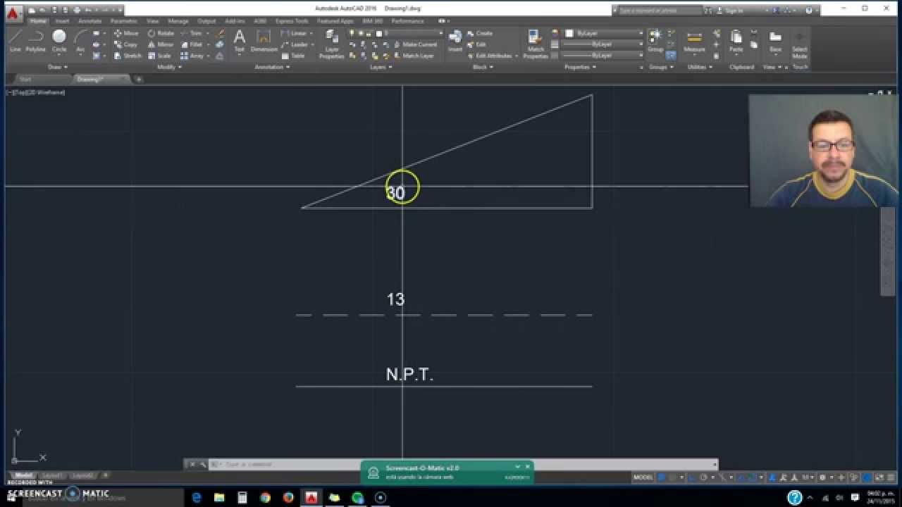 Simbolos Especiales En Autocad Youtube
