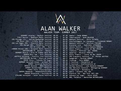 Alan Walker - Walker Tour: Summer 2017 (Trailer)