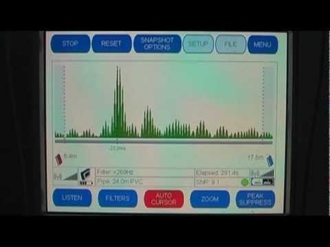 TriCorr Touch Leak Correlator