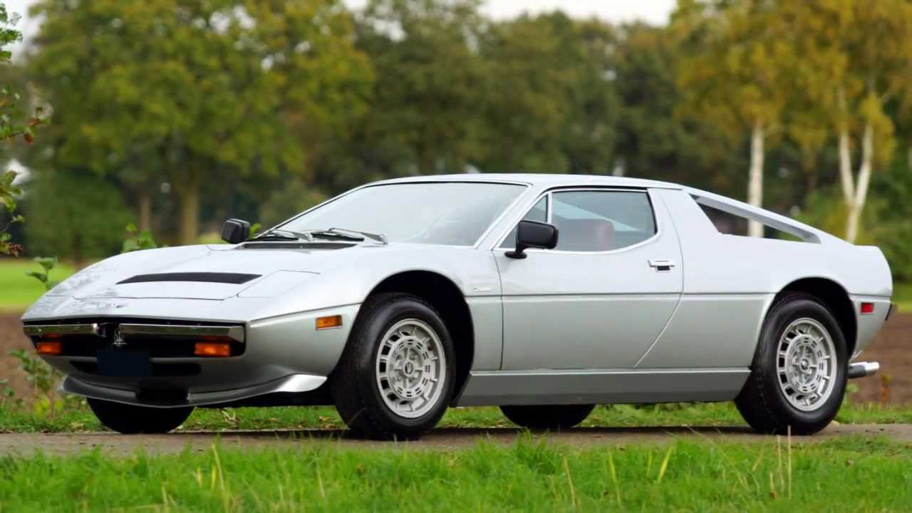 1978 maserati merak ss for sale a vendre verkauf te koop youtube. Black Bedroom Furniture Sets. Home Design Ideas