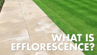 Porous Materials - Common Problems: Efflorescence