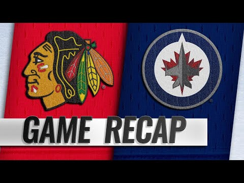 Connor, Jets hold off Blackhawks in 6-3 win