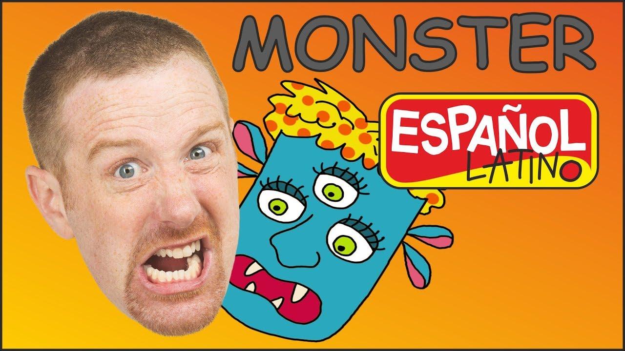 monstruo-para-nios-cuentos-para-nios-steve-and-maggie-espaol-videos-para-nios