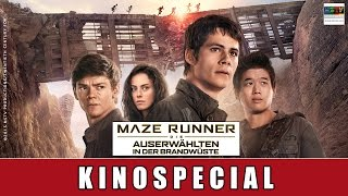 Maze Runner: Die Auserwählten in der Brandwüste - Kinospecial | Dylan O´Brien
