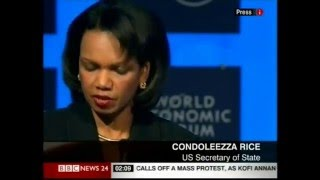 Condi Rice gets it on, and rules Britannia