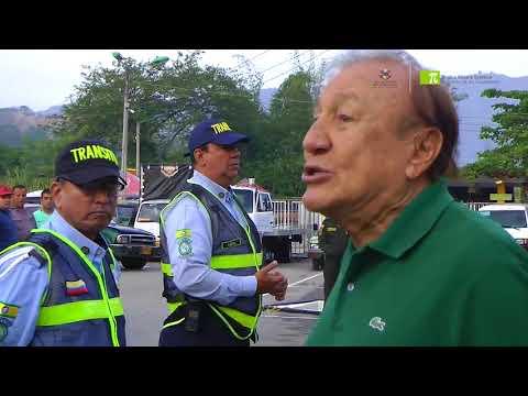 Alcalde de Bucaramanga llamó la atención a alféreces por instalación de cepos en bahías de parqueo