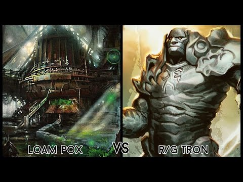 Modern Gauntlet Of Greatness - R/G Tron Vs. Loam Pox