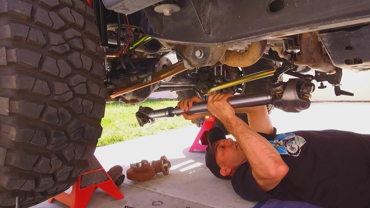 Jeep Wrangler Jku Driveshaft Upgrade How To Diy Tom Wood S And