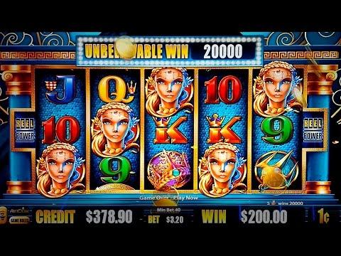 Fortunes of Atlantis Slot - SUPER FEATURE BONUS and BIG WINS!