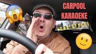 CARPOOL KARAOEKE (GAZ REYNOLDS STYLE) #KAMASUTRA #JAMESCORDEN #THELATESHOW #LONDON