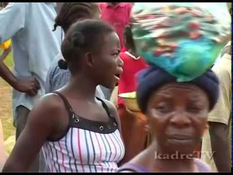 The Village: Life in  the West African, Liberia the natural sound