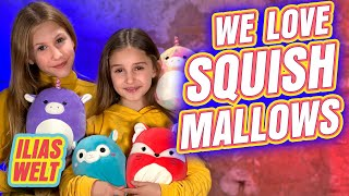 ILIAS WELT - We love Squishmallows ...so kuschelig!!!