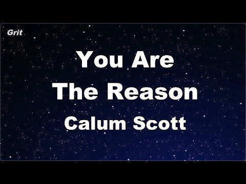 karaoke♬-you-are-the-reason---calum-scott-【no-guide-melody】-instrumental