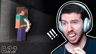MINECRAFT IN SMASH - Steve Reaction