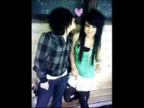 SCENE/EMO LOVE COUPLES - song - fallen star -