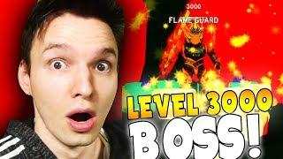 DER NEUE LEVEL 3000 BOSS !! | Roblox