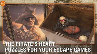 The Pirate's Heart - Puzzles for your escape games