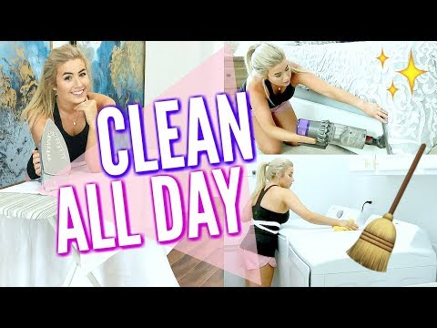 ✨NEW! ULTIMATE CLEAN WITH ME | EXTREME CLEANING MOTIVATION | ALL DAY CLEANING ROUTINE | Love Meg