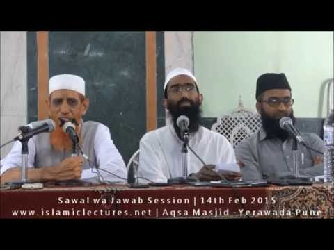 Sawal wa Jawab Session  - 14th Feb 2015   Pune