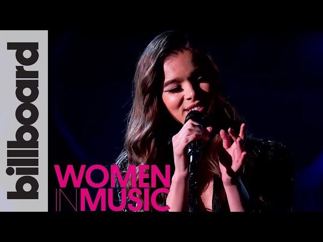 Hailee Steinfeld 'Starving' Live Acoustic Performance | Billboard Women in Music 2016