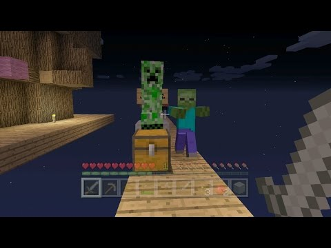 Minecraft Xbox - Sky Den - Googlies On The Bridge (7)