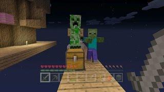 Minecraft Xbox - Sky Den - Googlies On The Bridge (7)