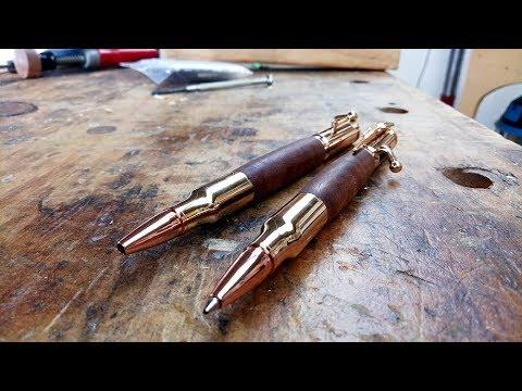 Making a wooden infilled pen