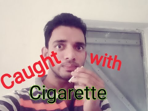 Caught Red hand with Cigarette // Aab tera kya hoga //vines// Suman Chakraborty
