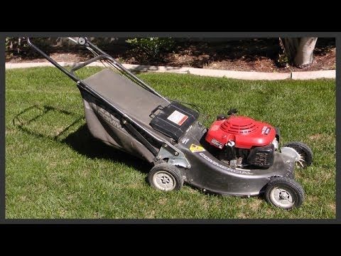 How To Start The Lawnmower Youtube