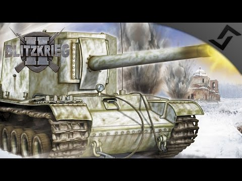 HAPPY NEW YEAR - SU-100Y Village Defense - Blitzkrieg 2 - USSR Campaign #1