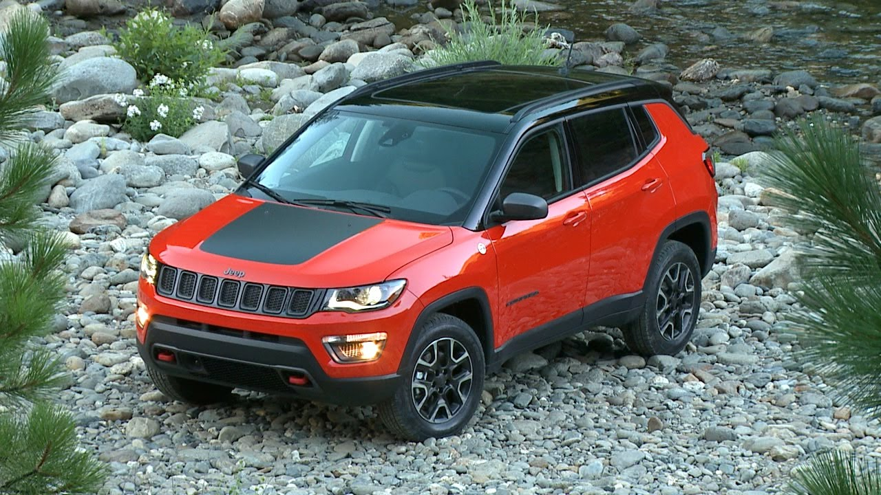 2017 jeep compass trailhawk running footage youtube. Black Bedroom Furniture Sets. Home Design Ideas