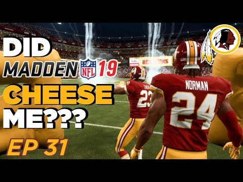 SO MANY DROPPED INTS!!! Brees getting Lucky! | Madden 19 Franchise - Washington Redskins | Ep 31