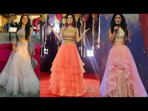 Light colour crop top lehenga designs || Lehenga choli designs for girls