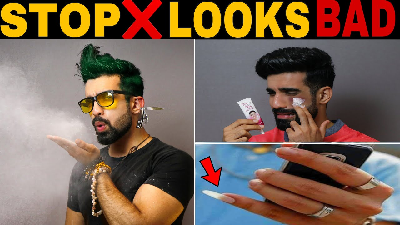 Download STOP❌ 16 Mistakes: You Will NEVER Look HANDSOME *LOOKS BAD*|TURN OFF| How to look Handsome |HINDI