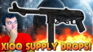 x100 SUPPLY DROP OPENING! NEW MP40 & M1911 GAMEPLAY! (Call of Duty Advanced Warfare)