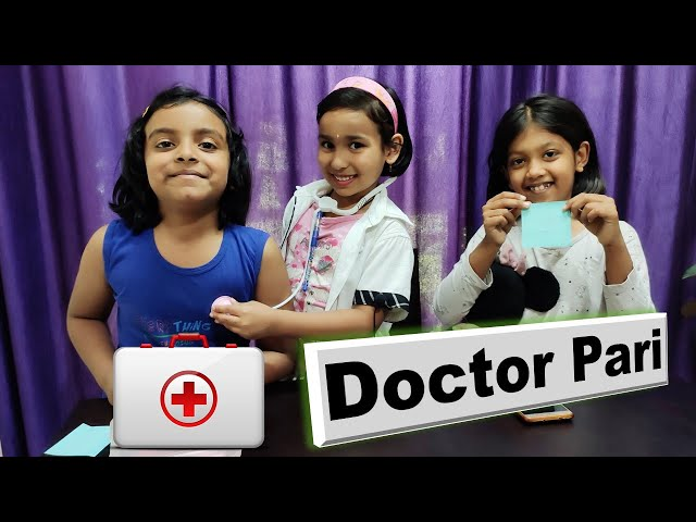Doctor game in Hindi/PART-1/Playing With Doctor Set/Doctor Pari/ किड्स डॉक्टर सेट / डॉक्टर किड्स गेम