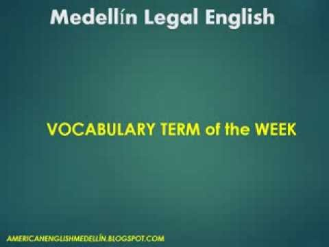 Legal English Medellin - breach contract